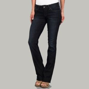 Lucky Brand Lola Boot Jeans Dark Haute Wash 10/30R
